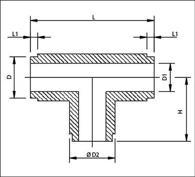 Pipe Fittings - Tee (Butt & Socket Weld) - Parth Plastic Industries